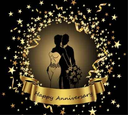 بنر سالگرد عروس و داماد ستاره طلایی005